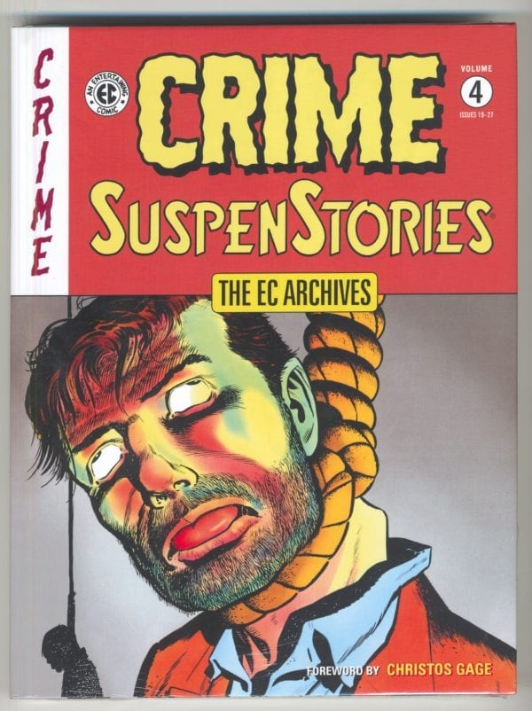 EC Arhcives: CRIME SuspenStories, Vol. 4