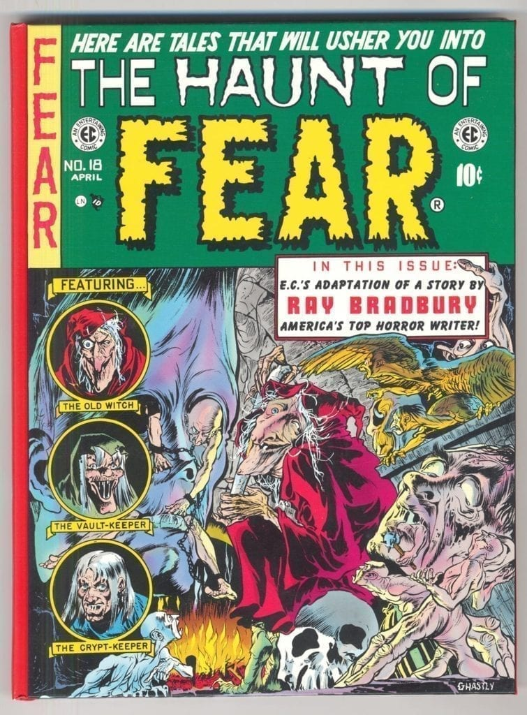EC LibraryL The Haunt of Fear, Vol. 4