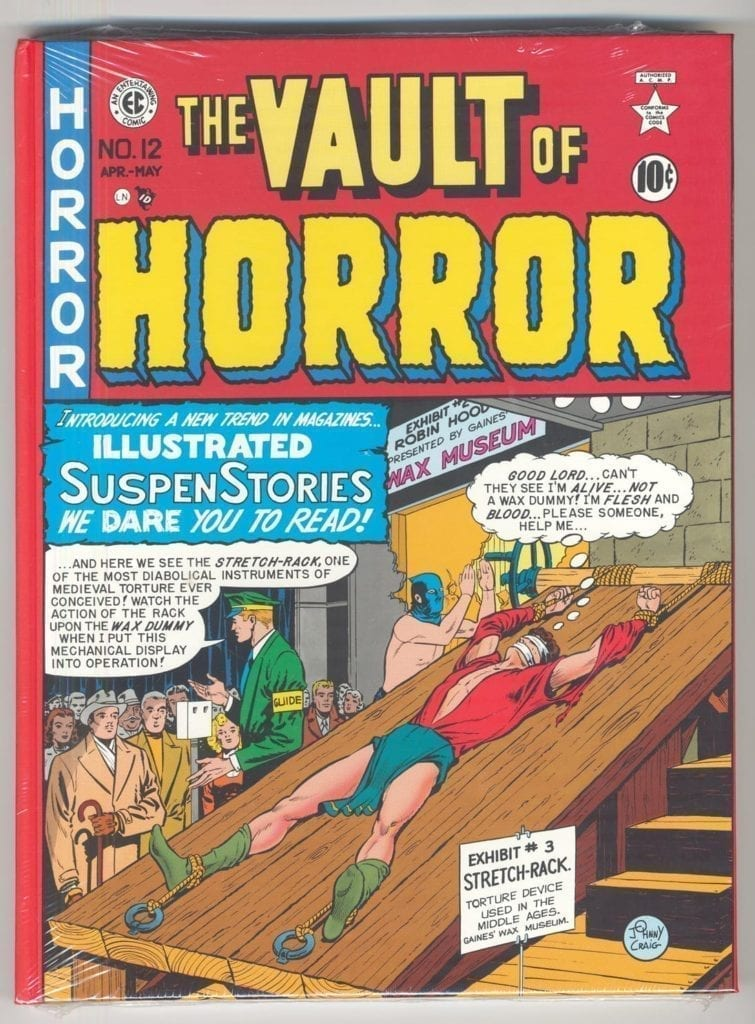 EC Library: The Vault of Horror, Vol. 1