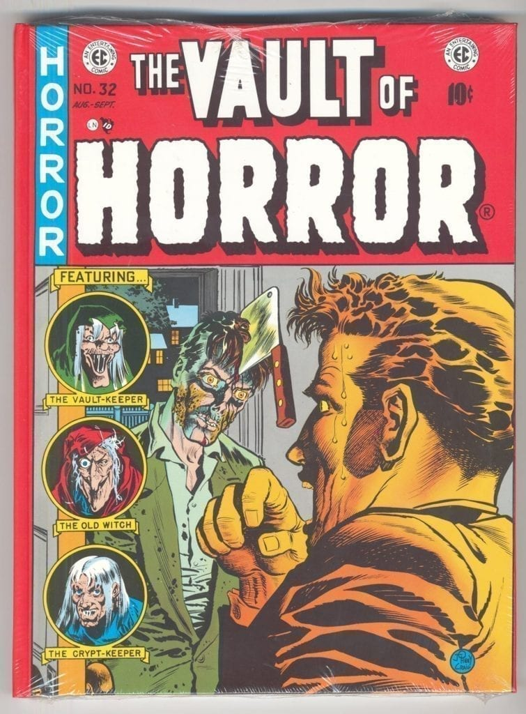 EC Library: The Vault of Horror, Vol. 4