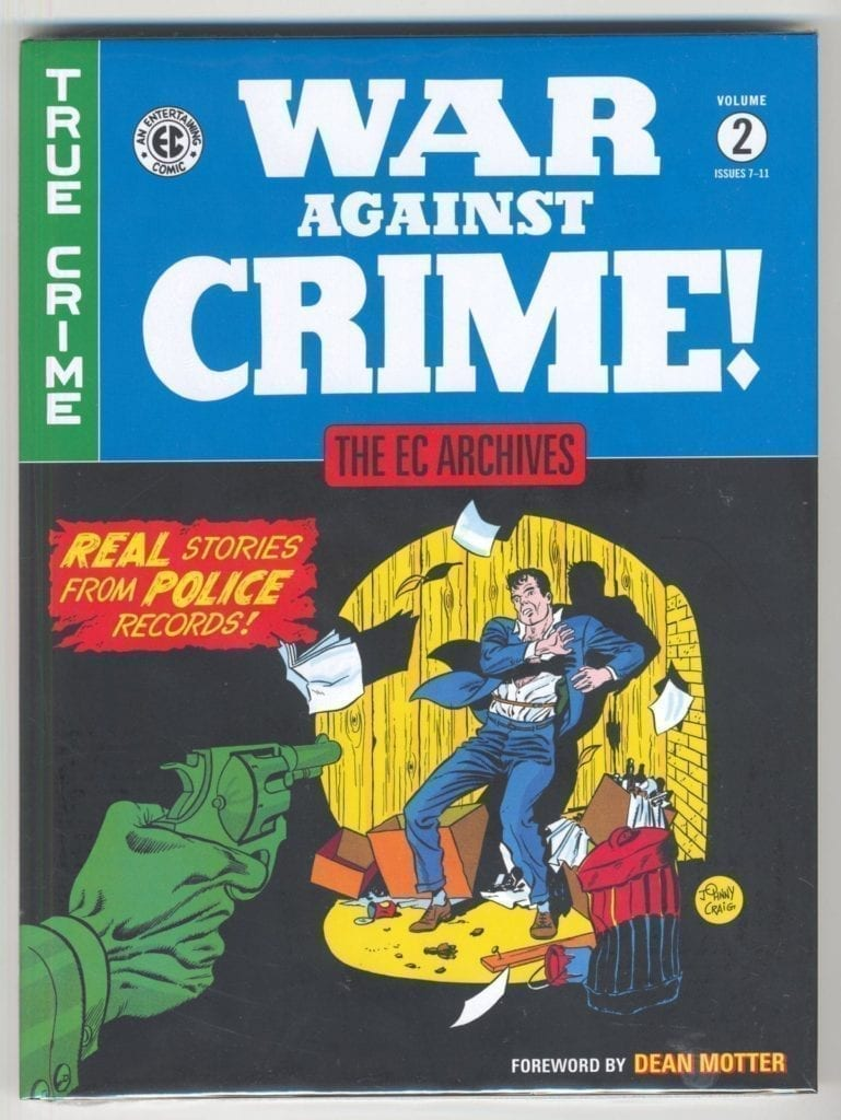 EC Archives War Against Crime, Vol. 2